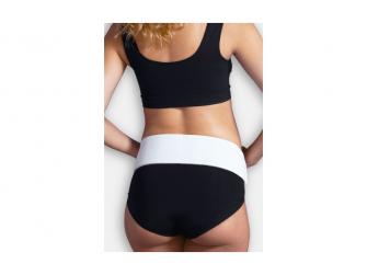 Těhotenský nastavitelný podpůrný pásek bílý S/M, Mum to Be 4