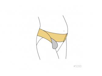 Těhotenský nastavitelný podpůrný pásek bílý S/M, Mum to Be 6