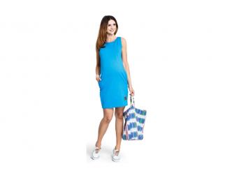 Těhotenské šaty Lemonade lazur dress M