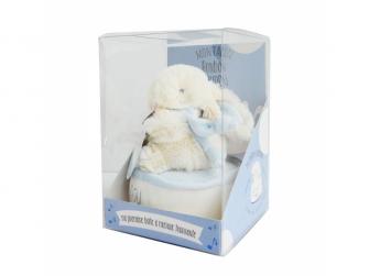 Lapin Bonbon Zajíček modrý Hudební 17cm