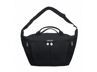 Celodenní přebalovací taška PLUS, Black