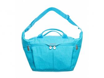 Celodenní přebalovací taška PLUS, Turquiose