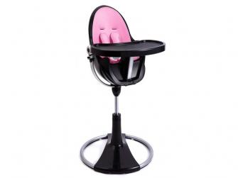 Židlička Fresco Chrome černá, bez podložky 5