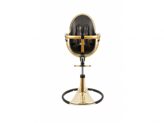 Židlička Fresco Chrome GOLD YELLOW (special luxury edition), bez podložky 3