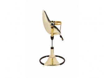 Židlička Fresco Chrome GOLD YELLOW (special luxury edition), bez podložky 5