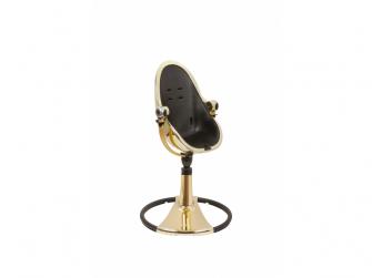 Židlička Fresco Chrome GOLD YELLOW (special luxury edition), bez podložky 4