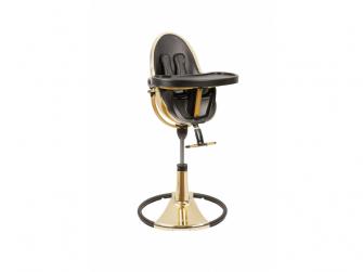 Židlička Fresco Chrome GOLD YELLOW (special luxury edition), bez podložky 2