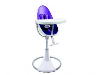 Židlička Fresco Chrome bílá, bez podložky 6