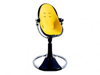 Startovací sada do židličky Fresco Chrome žlutá,umělá kůže 5