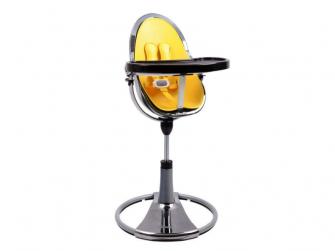 Startovací sada do židličky Fresco Chrome žlutá,umělá kůže 2