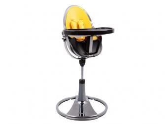 Startovací sada do židličky Fresco Chrome žlutá,umělá kůže 3
