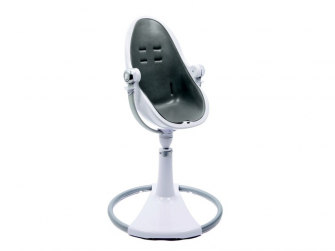 Startovací sada do židličky Fresco Chrome Diesel šedá, umělá kůže 4