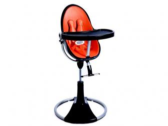 Startovací sada do židličky Fresco Chrome oranžová, umělá kůže 2