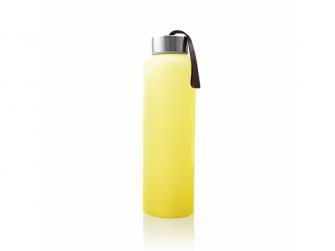 láhev sklo na vodu Bright Yellow
