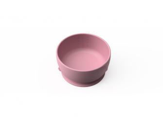 silikonová miska s přísavkou Purple Rose 2