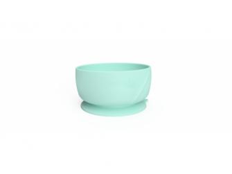 silikonová miska s přísavkou Mint Green