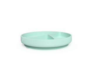 silikonový talíř s přísavkou Mint Green 2