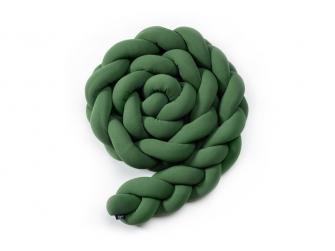 Pletený mantinel 360 cm, olive