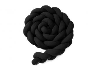 Pletený mantinel 360 cm, black