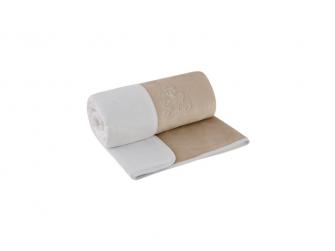 Dětská deka dvojitá Magna   latte - bílá 75 x 100 cm