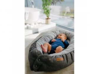 Hnízdečko pro miminka - grey