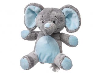 Můj první slon - plyšák, modrý