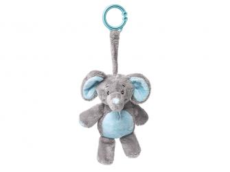 Můj první slon - na klipu, modrý