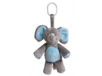 Můj první slon - s melodií, modrý