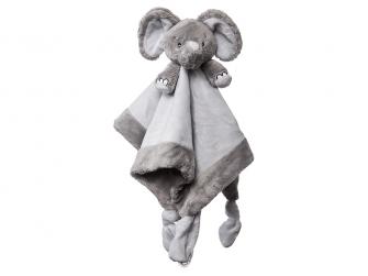 Můj první slon - muchláček, šedý
