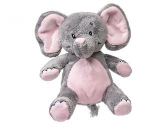 Můj první slon - plyšák, růžový