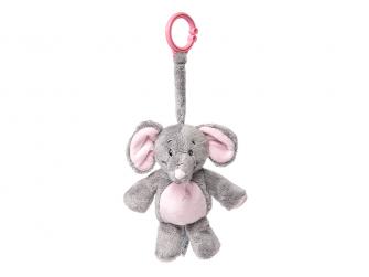 Můj první slon - na klipu, růžový