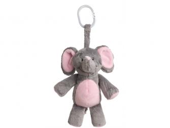 Můj první slon - s melodií, růžový