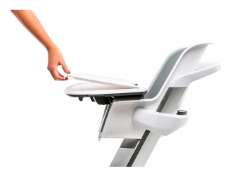 Jídelní židlička bílá 4