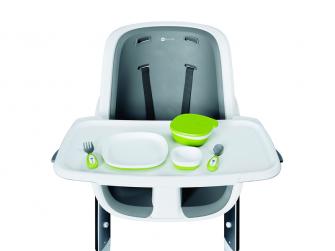 Jídelní židlička bílá 7