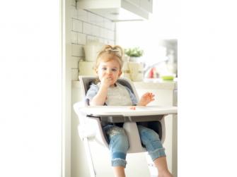 Jídelní židlička bílá 13
