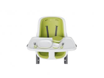 Jídelní židlička bílá 9