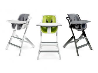 Jídelní židlička bílá 8