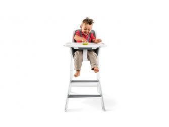 Jídelní židlička bílá 11