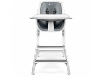 Jídelní židlička bílá 2