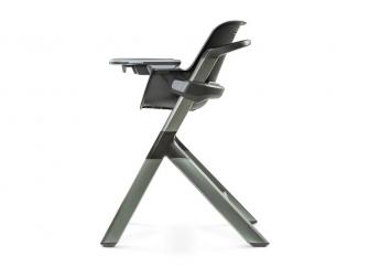 Jídelní židlička černá 3