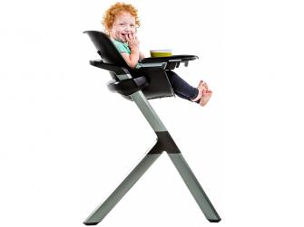 Jídelní židlička černá 11
