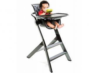 Jídelní židlička černá 10