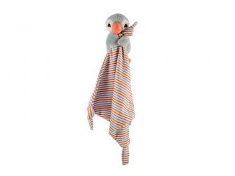 Plyšový pauchalk muchláček, modrý