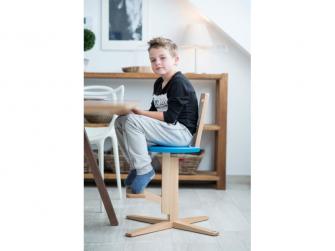 Jídelní židle MODRÁ 2