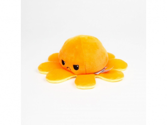 plyšová chobotnice 8cm Yellow/Orange 4