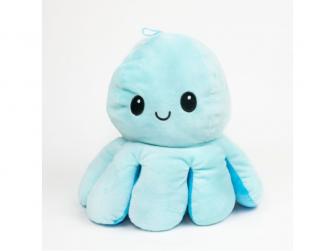 plyšová chobotnice 16cm Blue 2