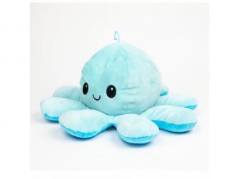 plyšová chobotnice 16cm Blue 3