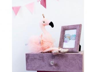 látková hračka BALLERINA Flamingo 25cm 6