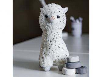 plyšová hračka LAMA White 30cm 3