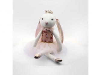 látková hračka BALLERINA Rabbit 48cm 2
